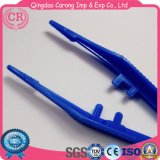 Medizinische Wegwerfchirurgische Plastikpinzette