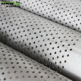 2018 aço inoxidável 316L 406.4mm Tampa perfurada do tubo do filtro