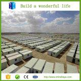 La casa que acampa del refugiado prefabricado del EPS modifica el envase para requisitos particulares los 20FT