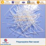 форма волны волокна 48mm 54mm 50mm PP для цемента