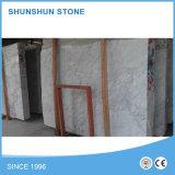 Wholesale Volkas natural de piedra de mármol blanco de la pared y piso