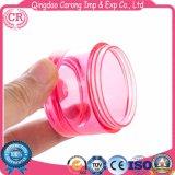 Verfassungs-Gesichts-Sahne-kosmetisches Kunststoffgehäuse-Glas