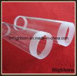 両端ねじカバーが付いている透過無水ケイ酸の水晶管