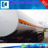 永久に30-65cbm炭素鋼の燃料かオイルまたはガソリンまたはディーゼル半タンカーのトラックのトレーラー