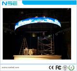 Heiße Verkauf 2017 flexible weiche flexible LED Module/LED videoinnenwand der LED-Bildschirmanzeige-P4 der Bildschirmanzeige-Screen/LED für Verkauf