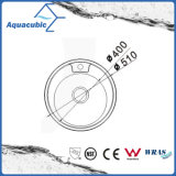 Acero inoxidable Aquacubic Pulsa redondo Fregadero (AEC5150B)