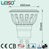 TUV & GS LED Spotlight GU10 6W para itens rentáveis