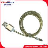 accesorios para teléfonos móviles de metal con el cable de datos USB para Samsung