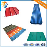 Mattonelle/strato d'acciaio galvanizzati del tetto del galvalume nel colore differente