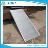 Bewegliche Aluminiumschlußteil-Laden-Rampe