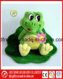 Stuk speelgoed van de Kikker van de Pluche van Emulational het Zachte voor de Bevordering van de Baby