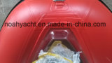 V barca trasparente del pavimento del guscio/barca gonfiabile con il pavimento trasparente