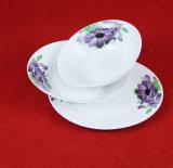 Insieme di ceramica del padellame di figura rotonda di stile della Cina