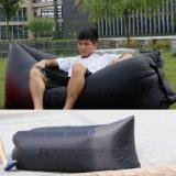 Usine Prix 210t en nylon Hangout gonflable rapide Sleeping Air Lit Sac pour Camping