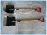 Деревянная ручка лопаты с ручка сад лопаты пластине