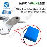 réverbère actionné solaire de 60W 9000lm DEL pour la contrée lointaine