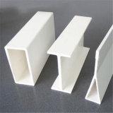 FRP Pultrudedの明確なプラスチックプロフィールの正方形の管100X100