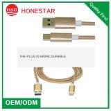 Тип кабель USB USB 2A кабеля данным по высокого качества Китая всеобщий микро- заряжателя телефона c