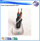 Кабель резины обшитый/электрический