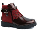 2017 Nouvelle conception de chaussures de marche rouge filles Bottes enfants Les enfants