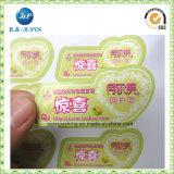 Contrassegno adesivo poco costoso dell'autoadesivo di prezzi BOPP per l'imballaggio (jp-s179)