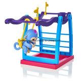 指の演劇猿のおもちゃEsg10346のための運動場の振動Stent