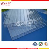 4mm 6mm transparentes hohes helle Übertragungs-Gewächshaus-Dach-Polycarbonat-Blatt