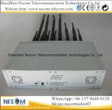 정지되는 14bands 셀룰라 전화, Wi Fi, Lojack, GPS, VHF/uhf 라디오 방해기 또는 차단제; 1 Cpjx14 의 탁상용 이동할 수 있는 신호 방해기, 중국 방해기, WiFi 방해기에서 모두