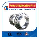 Plot de bride d'ajustage de précision de pipe d'acier du carbone selon la norme ANSI B16.5