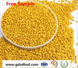 Masterbatch de color amarillo para inyección de plástico/Extrution/soplando