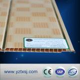 1つの溝PVC天井は印刷200*6mmのサイズに乗る