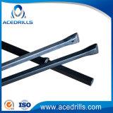 Type intégral foret Rod de burin d'acier de foret de partie lisse d'outil Drilling de H22