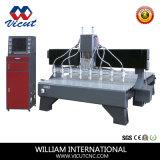 Cabeça de várias máquinas de alívio de madeira CNC Router CNC máquina de esculpir