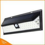 54 Bewegungs-Fühler-Bahn-Wand-Solarlampe des LED-helle im Freien Garten-PIR