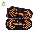 Calzini personalizzati antiscorrimento del trampolino, calzini della pinsa con il marchio