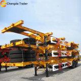 Двойной Axle 40ft скелета экспорт трейлера Semi к Филиппиныы