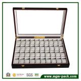 Comercio al por mayor caja de madera marrón para regalo y embalaje de chocolate