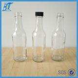 5oz150ml180ml250ml de Fles van de Saus van de Spaanse pepers van het Flessenglas van het Voedsel van het glas Met Verbinding GLB, de Hete Woozy Fles van het Glas