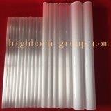 Venta de alta calidad opaca el tubo de cristal de cuarzo.