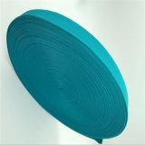 Venda por grosso de fábrica de tecido elástico azul