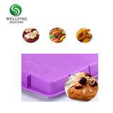 Unique en silicone de qualité alimentaire gâteau rectangulaire Casseroles, Silocone moule à gâteau