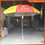 Ombrello di Sun di pubblicità su ordinazione della spiaggia