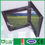 El aluminio Casement Ventana con Flyscreen y australianos como estándar2047