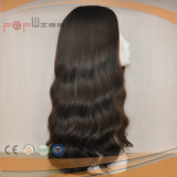 Parrucca piena della parte superiore della pelle dei capelli umani del merletto (PPG-l-0969)