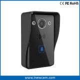 Timbre sin hilos casero elegante de la seguridad del intercomunicador del teléfono de la puerta de la cámara de vídeo de WiFi