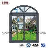 Modernes Europa-Standardaluminiumfenster mit doppeltem Glas