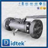 두 배 공 벨브를 뜨는 Didtek 중국 제조자 연약한 밀봉