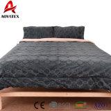 Het super Zachte 3PCS Bed van de Vacht van het Flanel van de Polyester dat voor de Reeks van de Slaapkamer wordt geplaatst