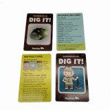 Изготовленный на заказ карточки собрания науки играя карточки для воспитательный учить