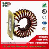 Indutor elevado da potência da bobina de bloqueador da indutância ISO9001 com base
